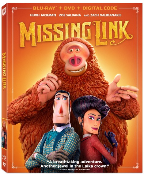 'Missing Link'; The Animated Adventure Arrives On Digital July 9 & On Blu-ray & DVD July 23, 2019 From Fox 2