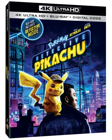 'POKÉMON Detective Pikachu'; Arrives On Digital July 23 & On 4K Ultra HD, Blu-ray & DVD August 6, 2019 From Warner Bros 4