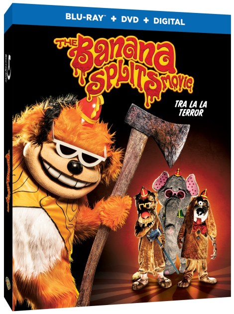 Trailer, Artwork & Release Details For 'The Banana Splits Movie'; The Horror Film Arrives On Digital August 13 & On Blu-ray & DVD August 27, 2019 From Warner Bros 2