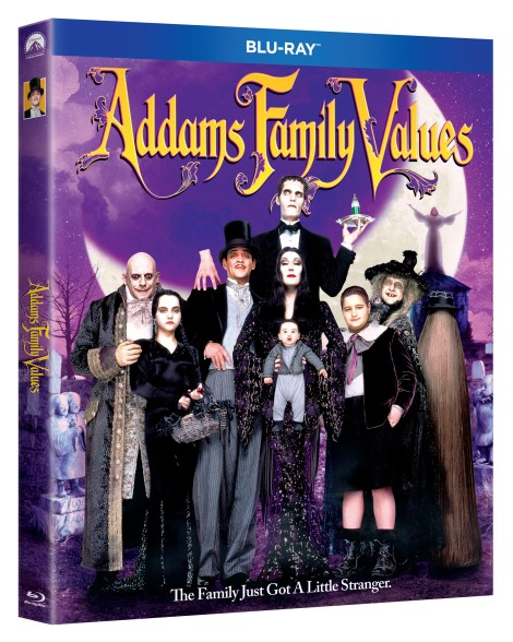 'The Addams Family' & 'Addams Family Values'; Both Films Arrive On Blu-ray, DVD & In a 2-Movie Collection October 1, 2019 From Paramount 4