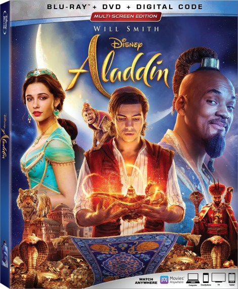Disney's 'Aladdin'; The New Live-Action Film Arrives On Digital August 27 & On 4K Ultra HD & Blu-ray September 10, 2019 From Disney 4