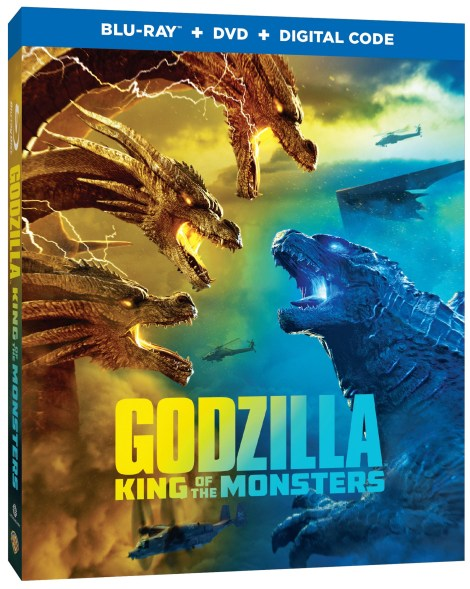 'Godzilla: King Of The Monsters'; Arrives On Digital August 13 & On 4K Ultra HD, Blu-ray & DVD August 27, 2019 From Warner Bros 4