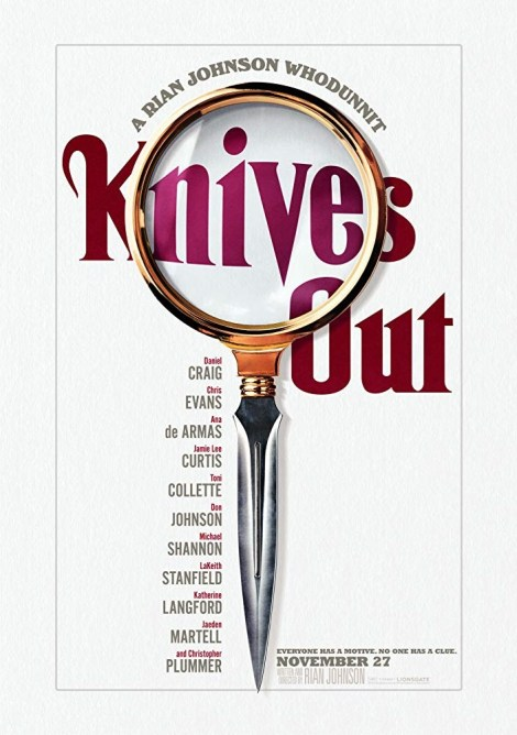 The Mystery Is Afoot In The First Trailer & Poster For Rian Johnson's Whodunnit 'Knives Out' 2