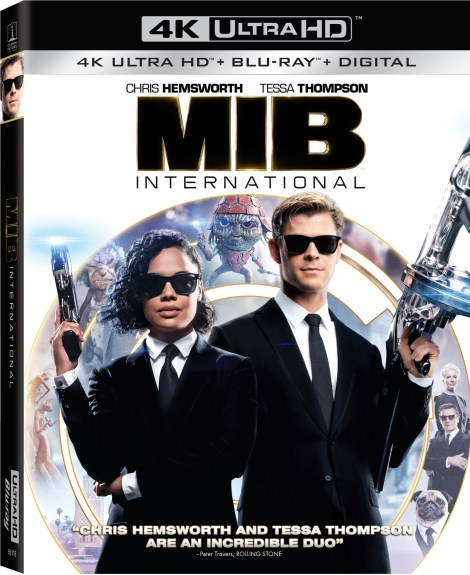 'Men In Black: International'; Arrives On Digital August 20 & On 4K Ultra HD, Blu-ray & DVD September 3, 2019 From Sony 4