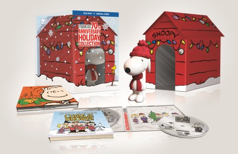 'Peanuts 70th Anniversary Holiday Collection'; Arriving In A Limited Edition Blu-ray Gift Set On October 1, 2019 From Warner Bros 1
