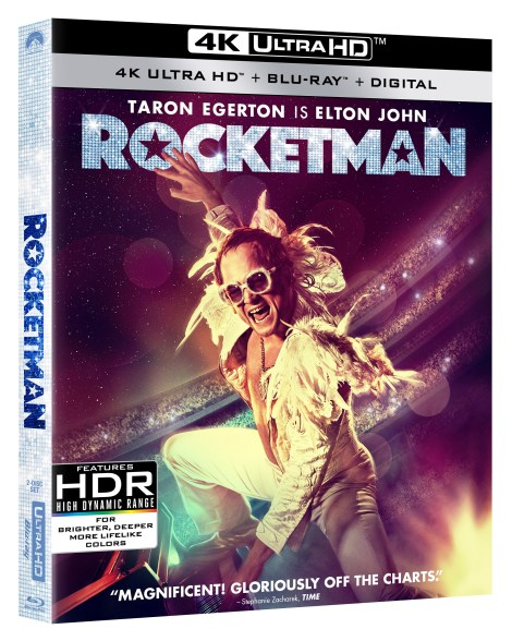 [GIVEAWAY] Win 'Rocketman' On 4K Ultra HD: Available On 4K Ultra HD, Blu-ray & DVD August 27, 2019 From Paramount 2