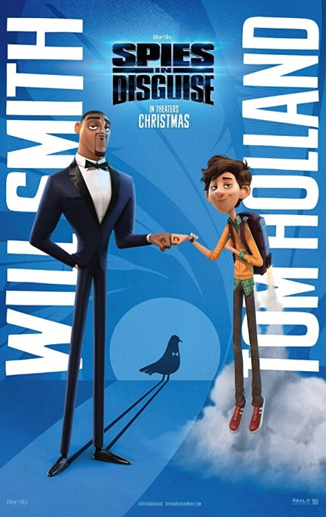 The New Trailer For The Will Smith Starring Animated Adventure 'Spies In Disguise' Arrives With Style 6