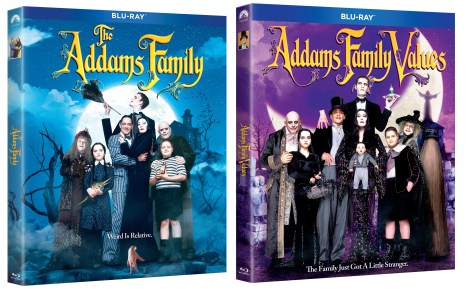 'The Addams Family' & 'Addams Family Values'; Both Films Arrive On Blu-ray, DVD & In a 2-Movie Collection October 1, 2019 From Paramount 1