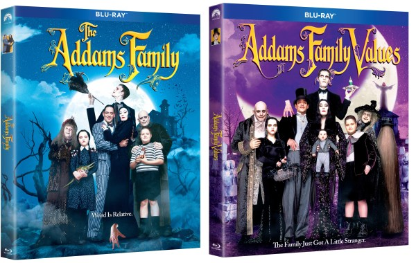 'The Addams Family' & 'Addams Family Values'; Both Films Arrive On Blu-ray, DVD & In a 2-Movie Collection October 1, 2019 From Paramount 5
