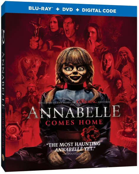 Annabelle Comes Home; The Terrifying New Chapter Arrives On Digital September 17 & On Blu-ray & DVD October 8, 2019 From Warner Bros 3