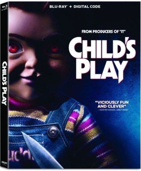 Child's Play; The Re-imagining Arrives On Blu-ray & DVD September 24, 2019 From Fox 3
