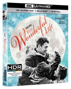 'It's A Wonderful Life'; The Classic Film Debuts On 4K Ultra HD October 29, 2019 From Paramount 1