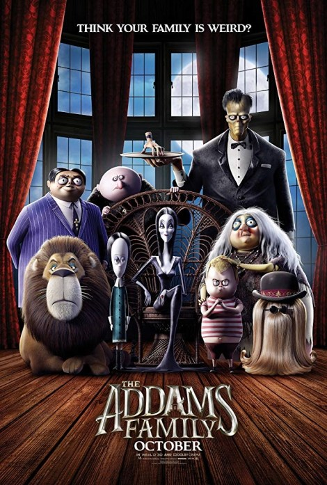 The New Trailer For 'The Addams Family' Animated Movie Brings The Family To Jersey! 2