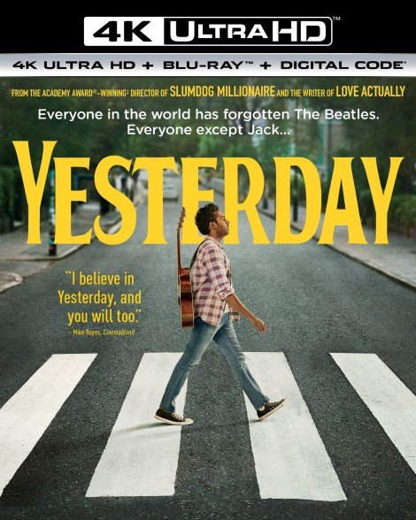 Yesterday; The New Film From Danny Boyle Arrives On Digital September 10 & On 4K Ultra HD, Blu-ray & DVD September 24, 2019 From Universal 4