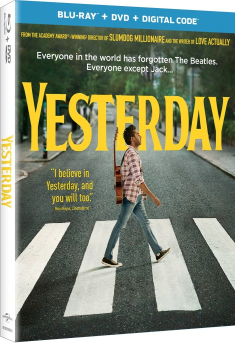 Yesterday; The New Film From Danny Boyle Arrives On Digital September 10 & On 4K Ultra HD, Blu-ray & DVD September 24, 2019 From Universal 6