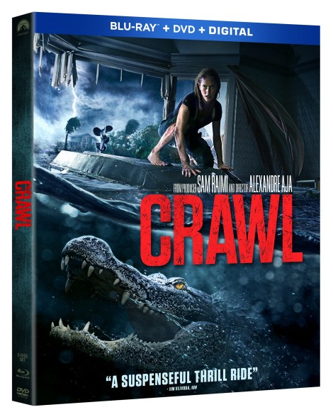 Crawl; The Alexandre Aja Directed Thriller Arrives On Digital September 24 & On Blu-ray & DVD October 15, 2019 From Paramount 3