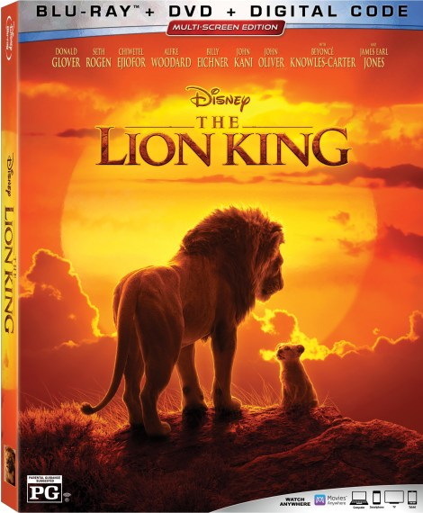 The Lion King; The Live-Action Film Directed By Jon Favreau Arrives On Digital October 11 & On 4K Ultra HD, Blu-ray & DVD October 22, 2019 From Disney 6