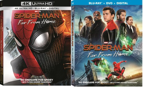 Spider-Man: Far From Home; Arrives On Digital September 17 & On 4K Ultra HD, Blu-ray & DVD October 1, 2019 From Marvel & Sony 1