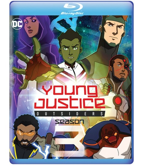 Young Justice: Outsiders - The Complete Third Season; Arrives On Digital September 24 & DVD November 26, 2019 From Warner Bros & On Blu-ray From Warner Archive 2