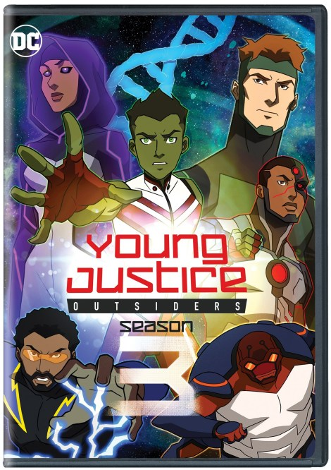 Young Justice: Outsiders - The Complete Third Season; Arrives On Digital September 24 & DVD November 26, 2019 From Warner Bros & On Blu-ray From Warner Archive 3