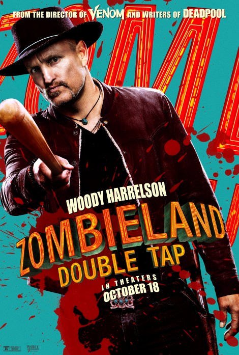 Meet Your Zombie Killers In 8 New 'Zombieland: Double Tap' Character Posters 2