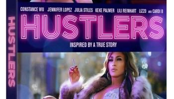 Hustlers 2019 Blu ray cover