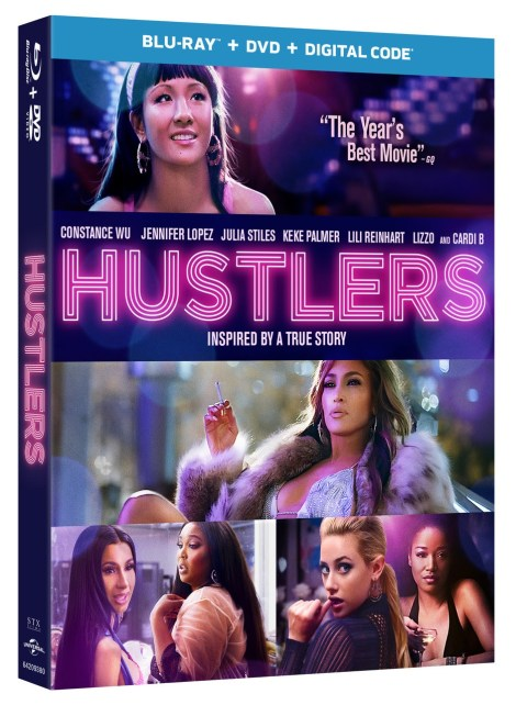 Hustlers 2019 Blu ray cover