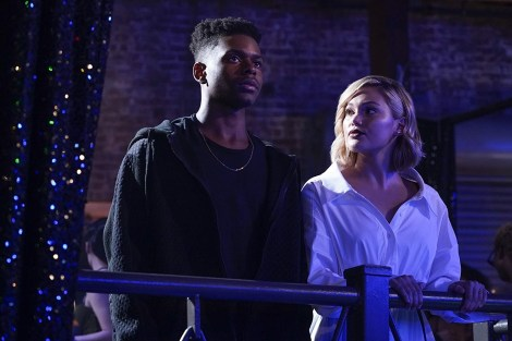 cloak & dagger tv show image, woman and man on balcony