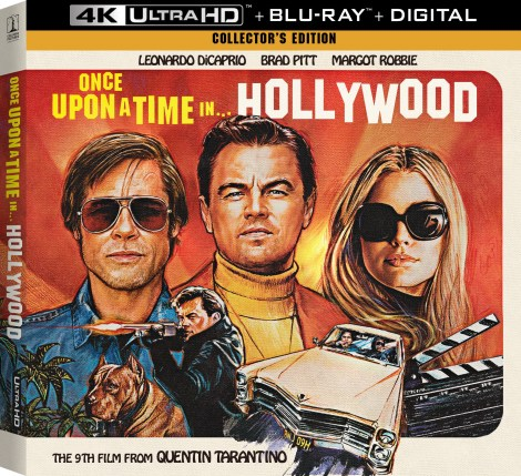 Quentin Tarantino's 'Once Upon A Time In Hollywood'; Arrives On Digital November 26 & On 4K Ultra HD, Blu-ray & DVD December 10, 2019 From Sony 4