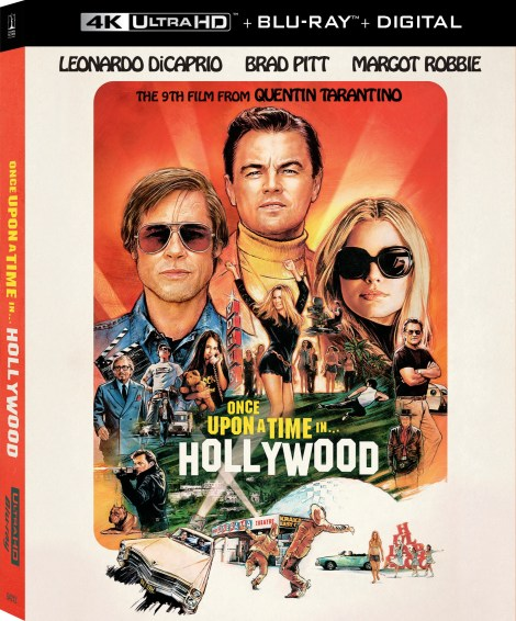 Quentin Tarantino's 'Once Upon A Time In Hollywood'; Arrives On Digital November 26 & On 4K Ultra HD, Blu-ray & DVD December 10, 2019 From Sony 6