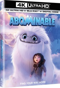 Abominable; The Animated Film Arrives On Digital December 3 & On 4K Ultra HD, Blu-ray & DVD December 17, 2019 From Universal 1