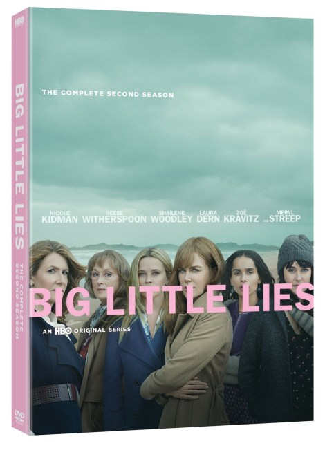 Big Little Lies: The Complete Second Season; Arrives January 7, 2020 On DVD From Warner Bros & On Blu-ray From Warner Archive 8