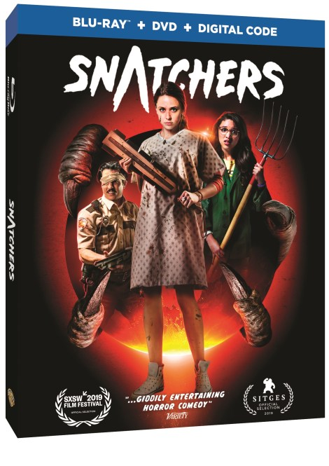 Trailer, Artwork & Release Details For Horror Comedy 'Snatchers'; Arrives On Digital January 7 & On Blu-ray & DVD February 18, 2020 From Warner Bros 3