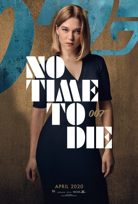 Bond Is Back In The First 'No Time To Die' Trailer & 6 Character Posters 7
