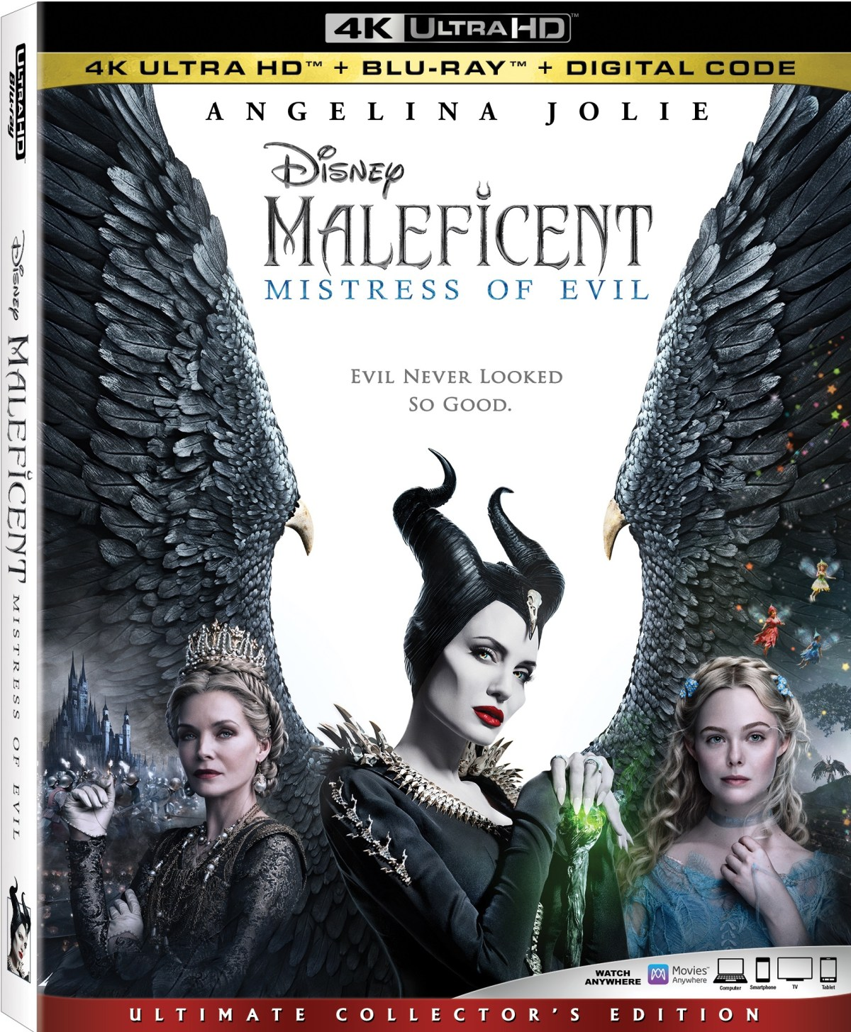 Maleficent: Mistress of Evil; Arrives On Digital December 31, 2019 & On 4K Ultra HD, Blu-ray & DVD January 14, 2020 From Disney 22