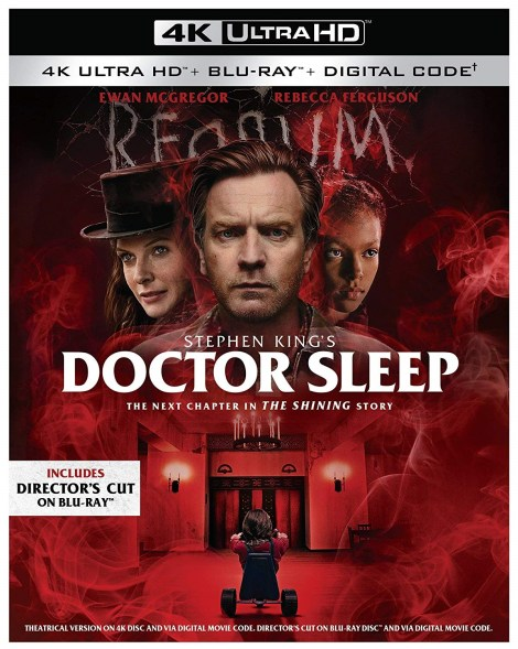 Doctor Sleep: Director's Cut*; Arrives On Digital January 21 & On 4K Ultra HD, Blu-ray & DVD February 4, 2020 From Warner Bros 2