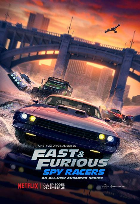 Check Out The First Trailer & Key Artwork For Netflix's 'Fast & Furious: Spy Racers' Animated Series Debuting This Month 2