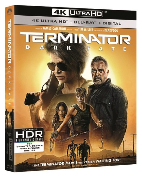 Terminator: Dark Fate; Arrives On Digital January 14 & On 4K Ultra HD, Blu-ray & DVD January 28, 2020 From Paramount 2
