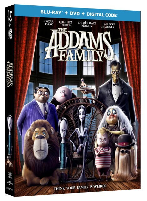 The Addams Family; The New Animated Film Arrives On Digital December 24, 2019 & On Blu-ray & DVD January 21, 2020 From MGM & Universal 3