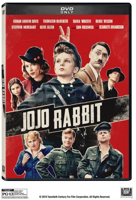 Jojo Rabbit; The Academy Award Nominated Film Arrives On Digital February 4 & On 4K Ultra HD, Blu-ray & DVD February 18, 2020 From Fox 4