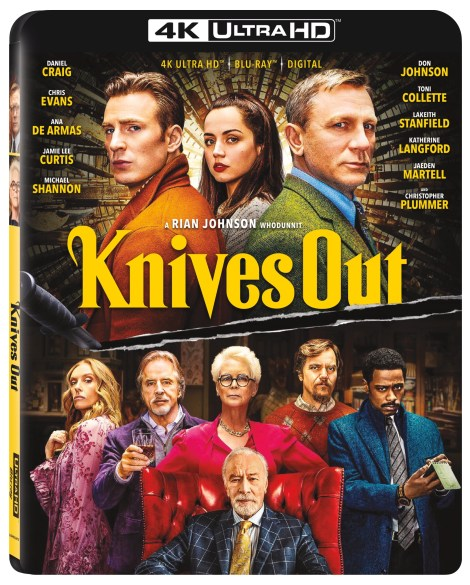 Knives Out; The New Film From Rian Johnson Arrives On Digital February 7 & On 4K Ultra HD, Blu-ray & DVD February 25, 2020 From Lionsgate 3