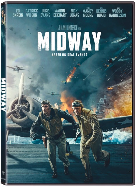 Midway; Arrives On Digital February 4 & On 4K Ultra HD, Blu-ray & DVD February 18, 2020 From Lionsgate 6