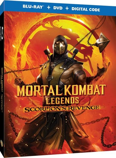 'Mortal Kombat Legends: Scorpion's Revenge' Release Details, Artwork & Trailer; Arrives On Digital April 12 & On 4K Ultra HD, Blu-ray & DVD April 28, 2020 From Warner Bros 3