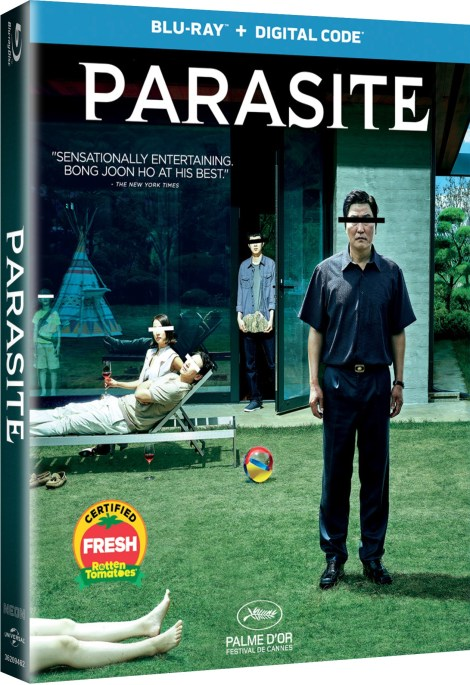 Parasite; Bong Joon Ho's Oscar Nominated Film Arrives On Blu-ray & DVD January 28, 2020 & Is Now Available On Digital From Universal 4