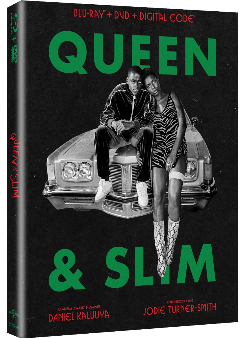 Queen and Slim Blu ray art