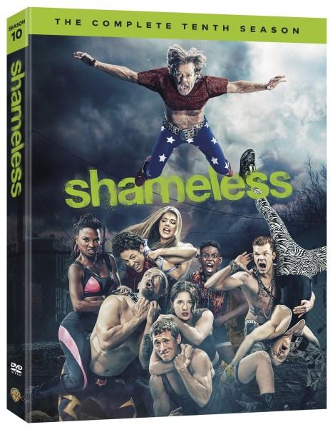 Shameless Season 10 DVD Cover