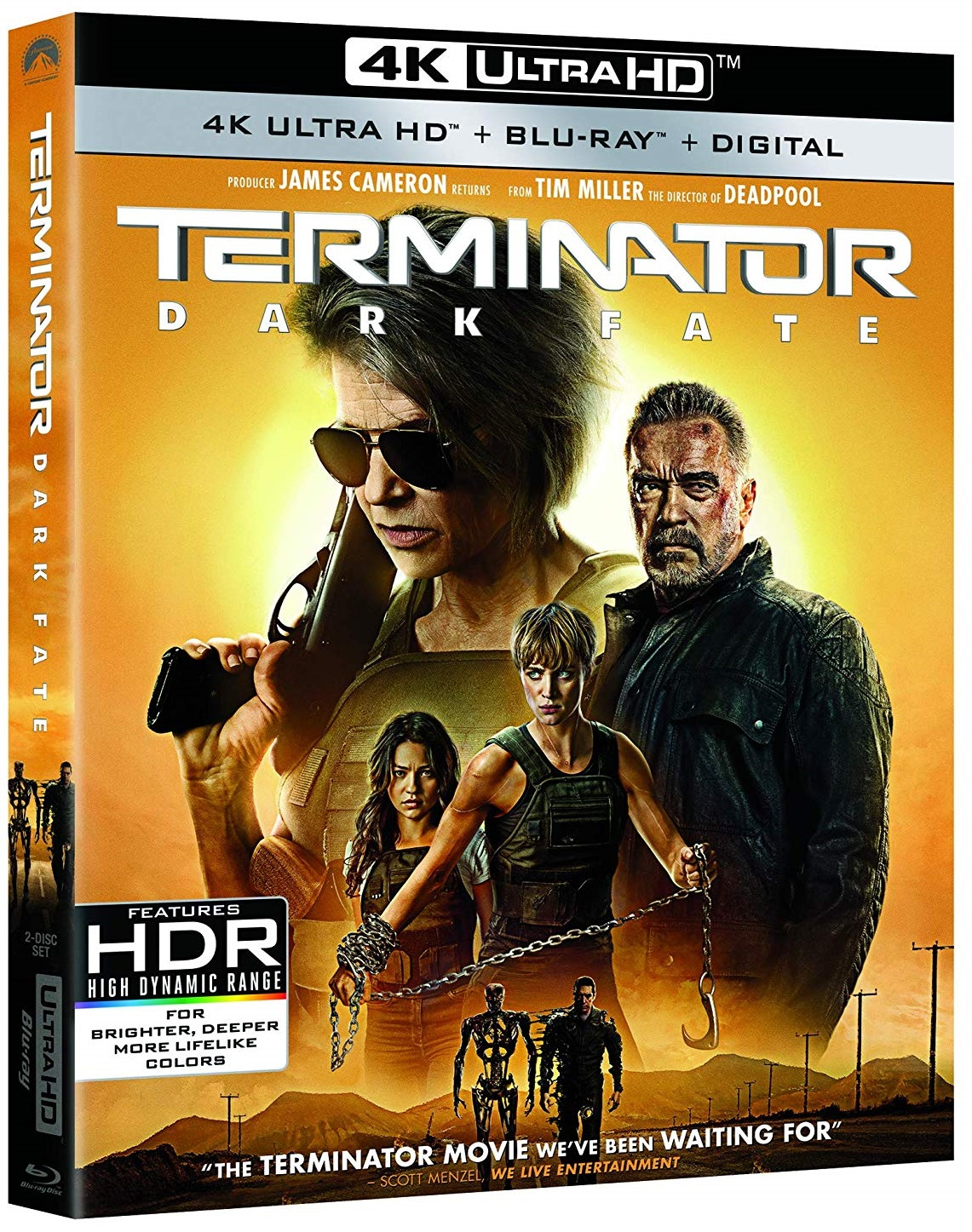 [GIVEAWAY] Win 'Terminator: Dark Fate' On 4K Ultra HD: Available On 4K Ultra HD, Blu-ray & DVD January 28, 2020 From Paramount 5