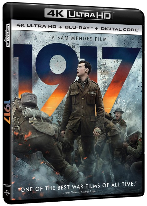 1917 4K UHD Artwork
