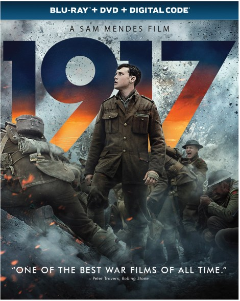 1917 Blu ray cover