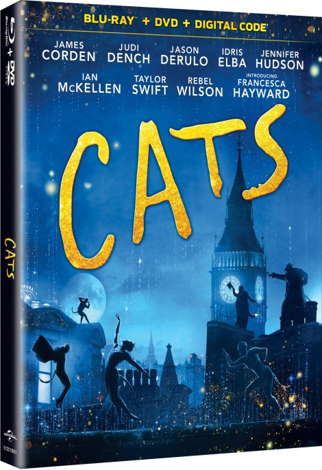 CATS 2019 Blu ray artwork